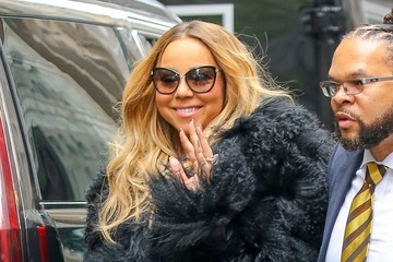 Mariah Carey Celebrities Visit 'Access Hollywood' in NYC