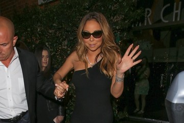 Mariah Carey Mariah Carey Leaves Mr. Chow in Beverly Hills
