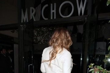 Mariah Carey Mariah Carey Gets Dinner At Mr Chow