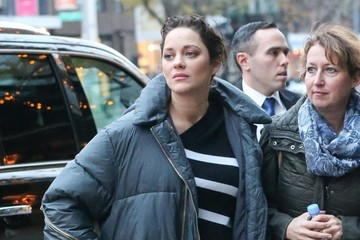 Marion Cotillard Marion Cotillard Is Spotted at Her Hotel in NYC
