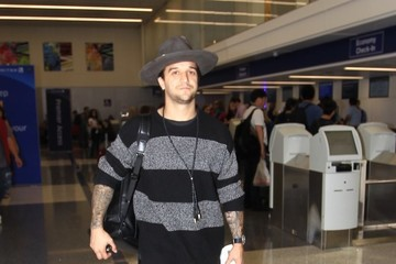 Mark Ballas Mark Ballas Departs on a Flight at LAX