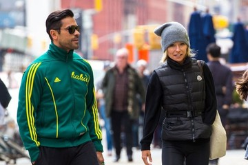 Mark Consuelos Kelly Ripa & Family Hit The Gym In NYC