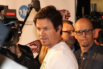 Mark Wahlberg Mark Wahlberg Attends the Opening of Wahlburgers at Fenway Park
