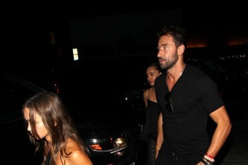 Marko Jaric Marko Jaric Dines Out At The Nice Guy