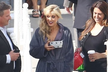 Marla Maples Celebs at the 'Dancing With the Stars' Studio