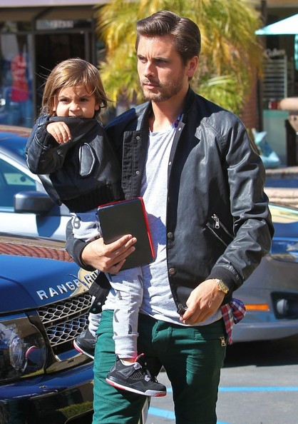 Mason Disick Scott Disick Takes Mason to