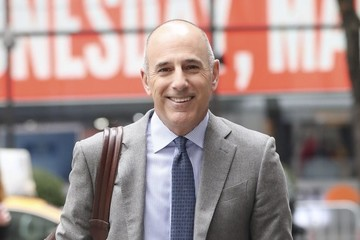 Matt Lauer Matt Lauer Is Seen Out and About in NYC