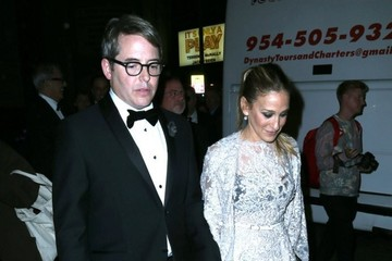 Matthew Broderick Sarah Jessica Parker & Matthew Broderick Leaving The Opening Night Of 'It's Only A Play'