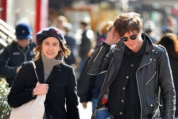 Matthew Hitt Alexa Chung Out In NYC With Matthew Hitt