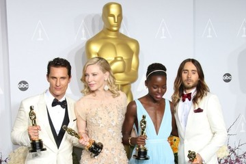 Matthew McConaughey Jared Leto Press Room at the 86th Annual Academy Awards — Part 2