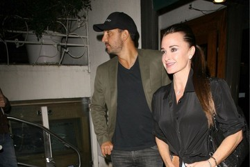 Mauricio Umansky Kyle Richards and Mauricio Umansky Do Dinner