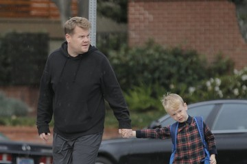 Max Corden James Corden Goes Out With His Son