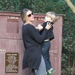 Max Sheen Brooke Mueller Takes Her Boys On A Hike