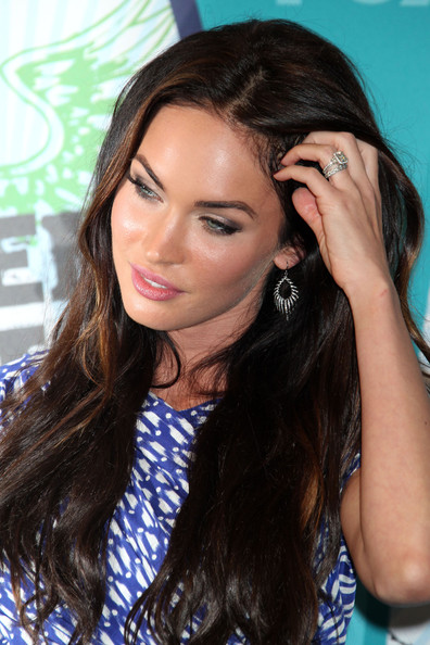 megan fox images 2010. Megan Fox Celebrities pose in the press room at the 2010 Teen Choice Awards