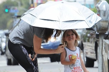 Megan Fox Megan Fox Takes Her Kids to a Baby Class
