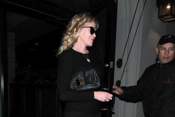 Melanie Griffith Celebrities Are Seen Out at Craig's