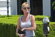 Melanie Griffith Out and About in Beverly Hills