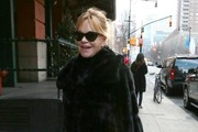 Melanie Griffith Shops in NYC