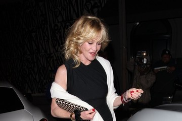 Melanie Griffith Celebrities Are Spotted at Craig's Restaurant