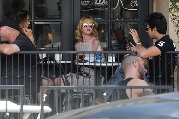 Melanie Griffith Melanie Griffith Goes Out in Los Angeles