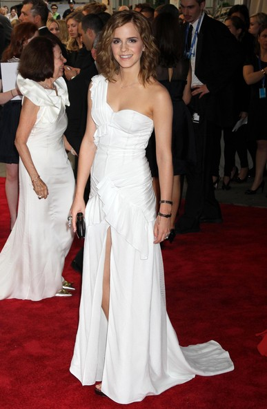 Emma Watson Celebrities attending the Metropolitan Museum Of Art's 2010 Costume Institute Ball, The Metropolitan Museum of Art in New York City, NY.