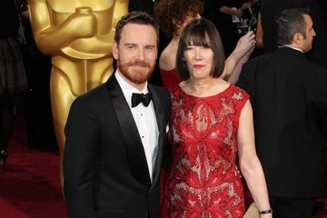 Michael Fassbender Arrivals at the 86th Annual Academy Awards — Part 2