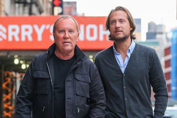 Michael Kors Lance Le Pere Michael Kors & Lance LePere Out for a Stroll in NYC