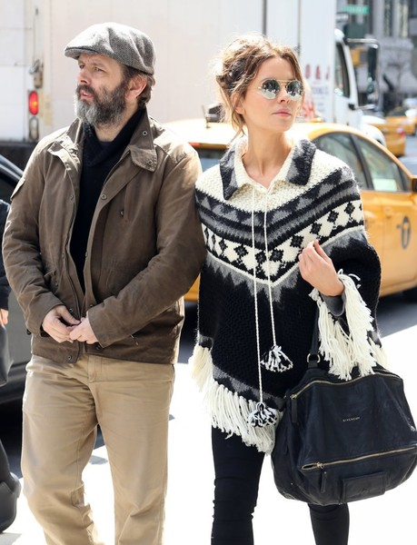 0b5738e5f610a2 Kate Beckinsale Goes Out with Daughter Lily Mo Sheen and Ex Michael Sheen  in NYC
