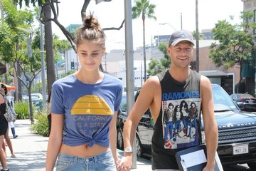 Michael Stephen Shank Taylor Marie Hill and Michael Stephen Shank Go Out for Lunch in Beverly Hills