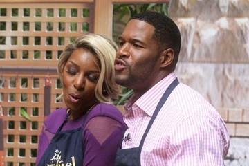 Michael Strahan Celebrities Visit 'Live With Kelly & Michael'