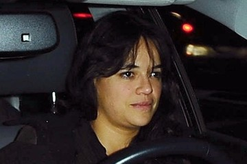 Michelle Rodriguez Michelle Rodriguez Gets Dinner in LA