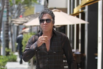 Mickey Rourke Mickey Rourke Goes Out in Beverly Hills