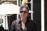 Mickey Rourke Goes Out in Beverly Hills