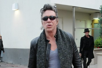 Mickey Rourke Mickey Rourke Steps Out in Beverly Hills