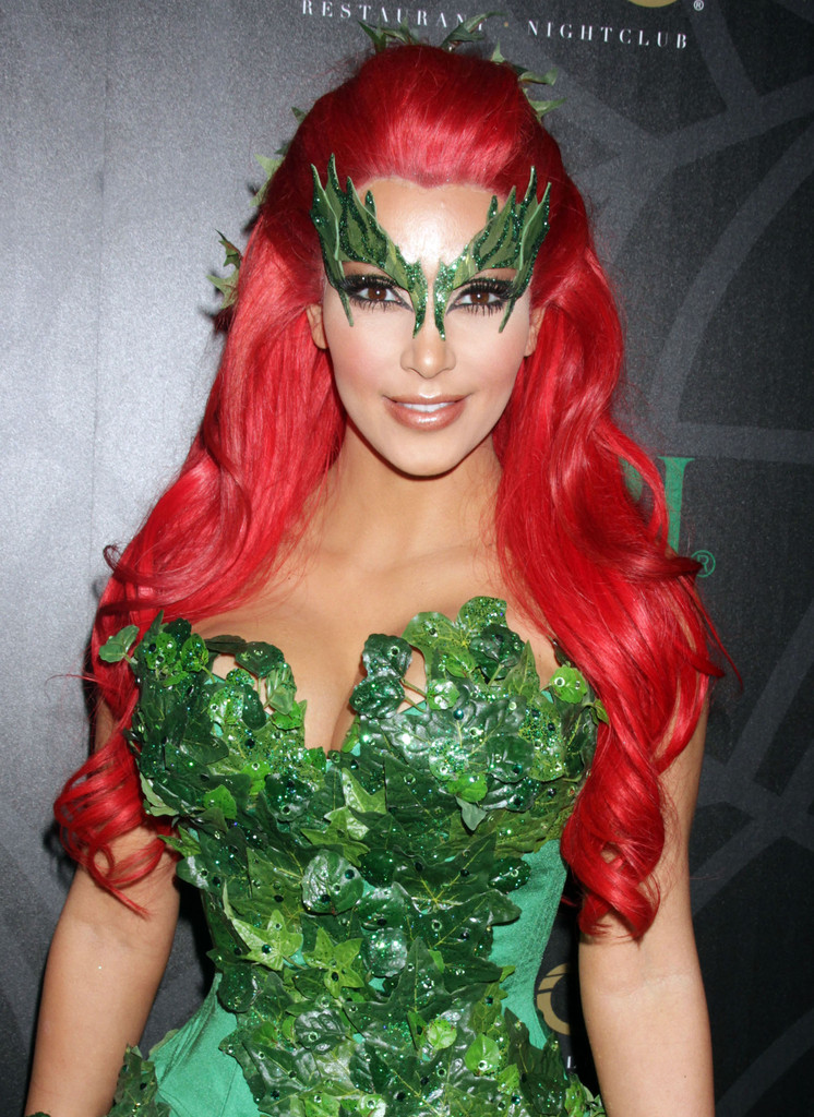 kim kardashian photos photos midori green halloween costume party zimbio - Green Halloween Dress