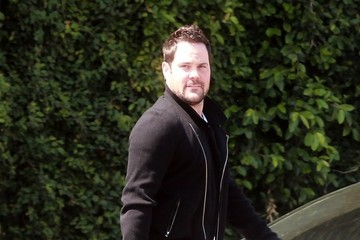 Mike Comrie Mike Comrie Has Lunch in West Hollywood