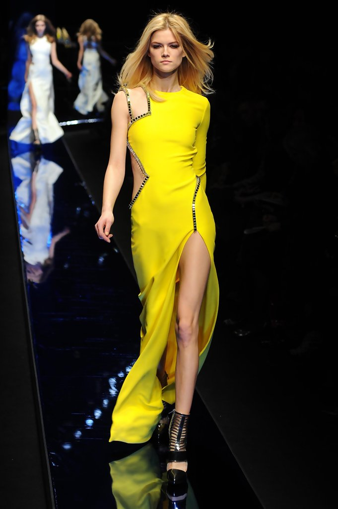 Milan Fashion Week - Versace Fashion Show