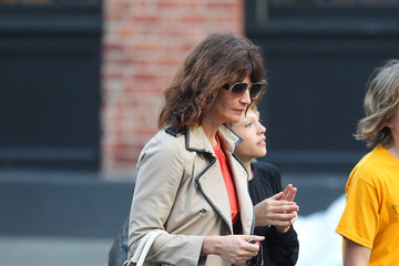 Mingus Reedus Helena Christensen Out With Her Son In New York