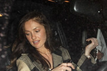 Minka Kelly Celebrities Celebrate Balthazar Getty's Birthday at Nice Guy Nightclub