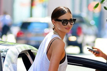 Miranda Kerr Miranda Kerr Steps Out in NYC
