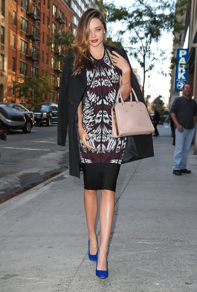 Miranda Kerr Heads to a Cosmopolitan Meeting