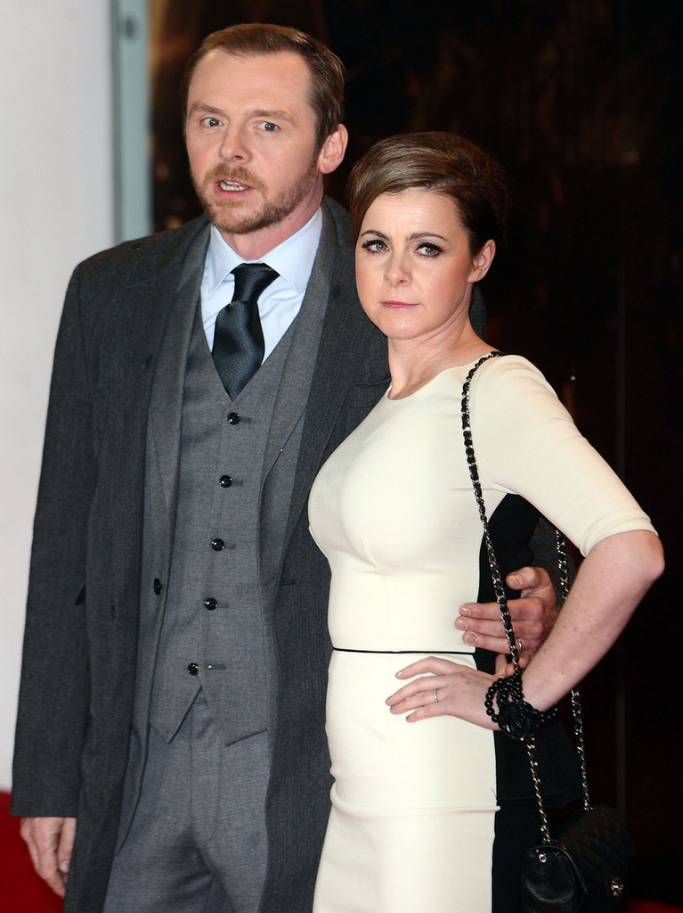 Simon Pegg And Maureen Pegg Photos Photos Mission