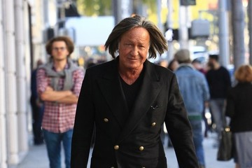 Mohamed Hadid Mohamed Hadid Goes Shopping On Rodeo Drive