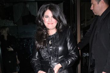 Monica Lewinsky Monica Lewinsky Leaving Mr. Chow's Restaurant