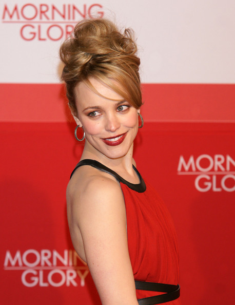 Rachel McAdams and Harrison Ford attend the premiere of 'Morning Glory' at the CineStar theatre in Berlin, Germany.
