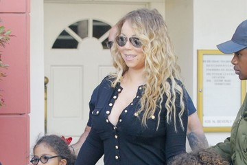Moroccan Cannon Mariah Carey Takes Her Kids Shopping in Beverly Hills