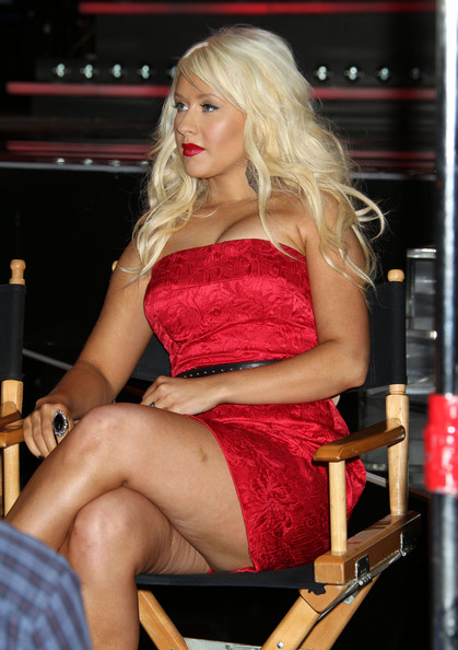 the voice christina aguilera 6 7 2011. Christina Aguilera was showing