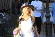 Nadeea Volianova Goes Out Shopping at The Grove