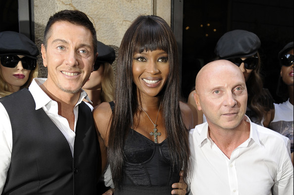 naomi campbell 2011. Naomi Campbell and Domenico