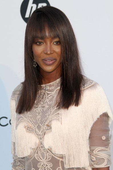 Naomi Campbell Celebrities attend the 2011 amfAR's Cinema Against AIDS Gala at Hotel Du Cap in Antibes, France.
